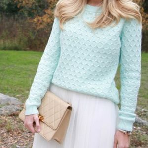 Old Navy Honeycomb Knit Crew Neck Sweater